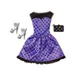Barbie Roupa e Acessórios Cfx92 Vestido Azul - Mattel