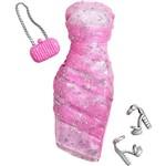 Barbie Roupas Fashion Vestido de Festa Rosa - Mattel