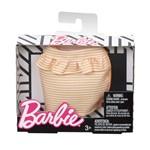 Barbie Roupinhas e Acessórios Saia de Listras Laranja - Mattel Barbie Roupinhas e Acessórios Saia de Listras Laranja - Matte