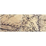 Barra Adesiva Decoupage Litocart LB-731 44x4cm Mapa
