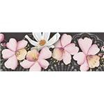 Barra Adesiva Litoarte BA1-IV-079 Flores de Cerejeira By Lili Negrão