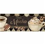 Barra Adesiva Litoarte BDA-IV-720 Coffee Espresso 43,6x4cm