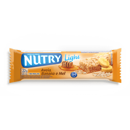 Barra de Cereal Nutry Aveia Banana Mel