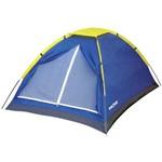 Barraca de Camping Mor Tipo Iglu para Até 2 Pessoas Azul