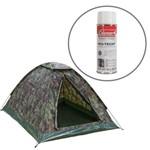 Barraca de Camping Selvas 4 Pessoas Nautika+ Impermeabilizante para Barracas Coleman