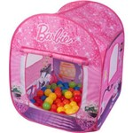 Barraca Infantil Barbie com Bolsa e Bolinhas - Fun