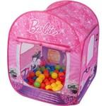 Barraca Infantil Barbie com Bolsa e Bolinhas - Fun