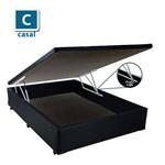 Base Box Baú Casal Corino Preta