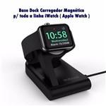 Base Dock Carregador Magnético Watch com Cabo USB