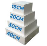 Base Quadrada para Bolo Fake 40cm X 40cm