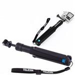 Bastão Suporte de Mão Telesin para Câmeras de Ação ou Esportivas
