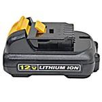 Bateria 12 Volts 1,3 Ah Íons de Lítio - DCB120-B2 - Dewalt