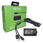 Bateria 4800mah Recarregável + Cabo USB para Controle Wireless de Xbox One Feir Fr-302o-a