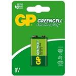 Bateria 9v Gp Greencell Zinco/carbono