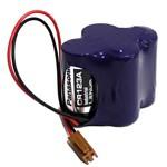 Bateria de Lithium com Fio e Conector 6,0v Panasonic Br-2/3agct4a