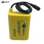 Bateria Emborrachada Farol Bike Usb 6x18650 52800 Mah 4.2v