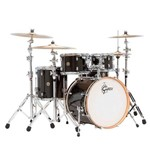 Bateria Gretsch Catalina Maple Cm1 E605 Black