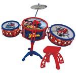 Bateria Infantil Musical - Spider-man - Marvel - Toyng