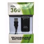 Bateria para Controle do Xbox 360 com Cabo USB