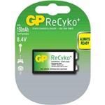Bateria Recarregável 150 MAh 9v Recyko GP15R8 C1 GP