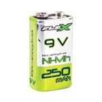 Bateria Recarregável 9v 250 Mah