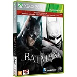 Jogo Batman: Asylum + City Goty Bundle X360