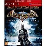 Batman - Arkham Asylum Ps3