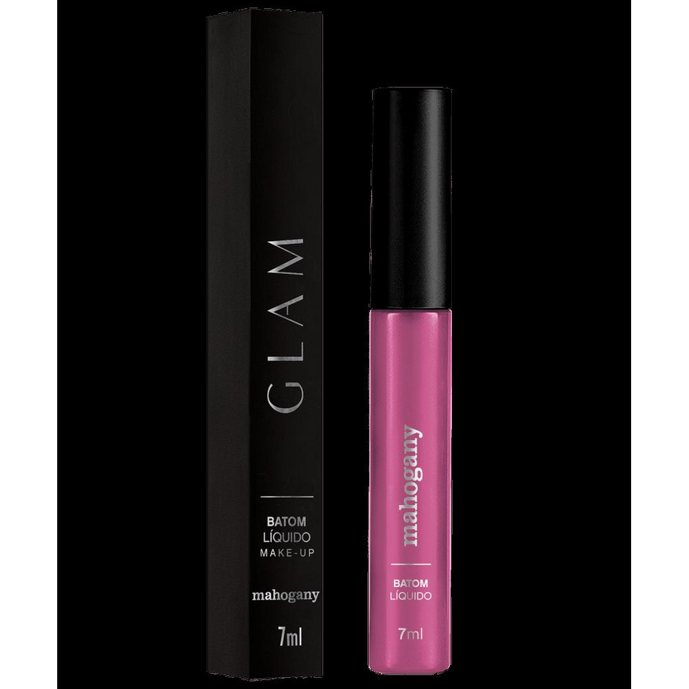 Batom Líquido Glam Purple Matte 7 Ml