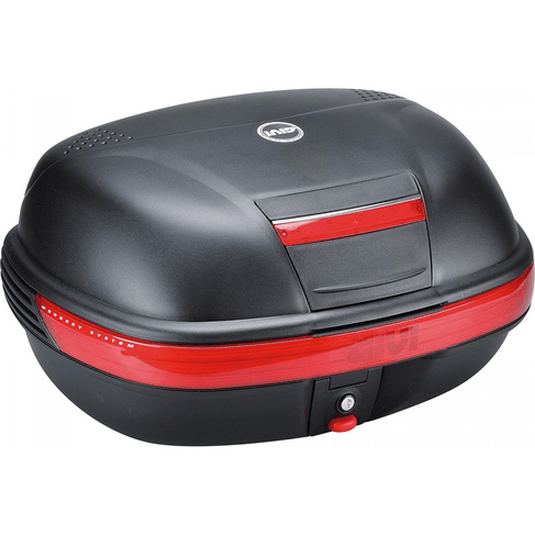 Bau Givi E460N Monokey SIMPLY 46L Preto C/ Lente Vermelha
