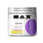 Bcaa Drink Maracujá 280g Suplemento Max Titanium Aumento de Energia Manutenção Muscular