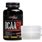 Bcaa Fix Darkness - 120 Tabletes + Porta Cápsula - Integralmédica