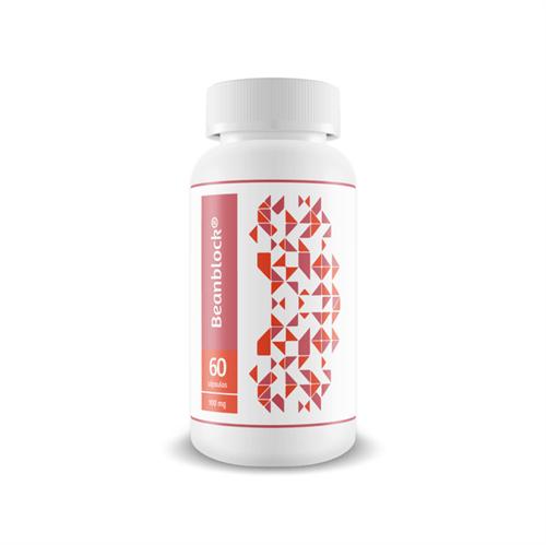 Beanblock 100mg - Redução da Absorção de Carboidratos 60 Cápsulas