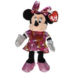 Beanie Babies Pelúcia - Minnie com Vestido Rosa