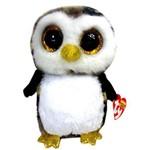Beanie Boos Bichos de Pelúcia Coruja Owliver Bichinho Coleção Dtc - Dt8 3512