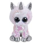 Beanie Boos Paete Médio Diamond Unicornio Branco - DTC