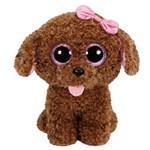 Beanie Boos Pelúcia Colecionável Ty Cachorrinha Maddie 25cm