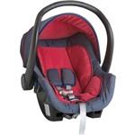 Bebê Conforto Galzerano Cocoon - Jeans/vermelho - Grupo 0+: Até 13 Kg
