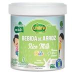 Bebida de Arroz Rice Milk Kids 200gr Unilife