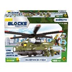 Bee Blocks Helicoptero Militar de Ataque 452 Pcs Bee me