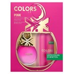 Benetton Colors Pink Kit - Edt 80ml + Desodorante