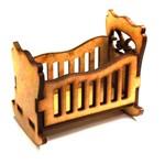 Berço de Bebê Balanço Mini - MDF a Laser