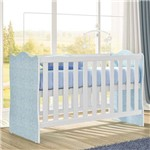 Berço Infantil 62r11pp Branco/Azul - Rodial