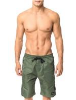 Bermuda Calvin Klein Jeans Listra Zíper Militar - M