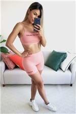 Bermuda Colcci Fitness Performace - Rosa