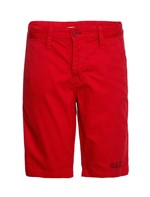 Bermuda Color Infantil Calvin Klein Jeans Estampa Frente Vermelho - 4