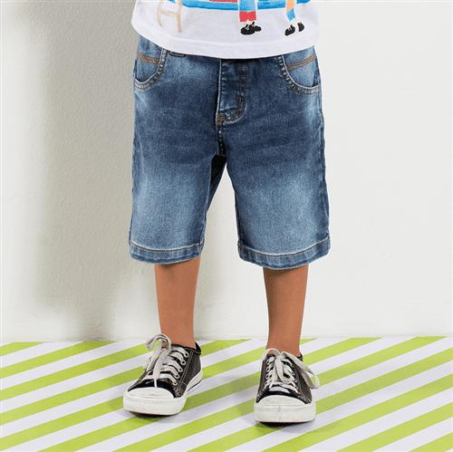 Bermuda Garoto Esperto Jeans/02
