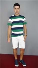 Bermuda HandBook Jeans Branca AV17 33505