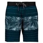 Bermuda Hang Loose Palm Azul - Hang Loose - Hang Loose