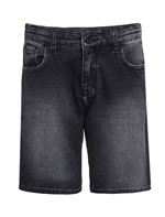 Bermuda Jeans Infantil Calvin Klein Jeans Five Pockets Preto - 2