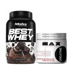 Best Whey 900g + Creatina 100g - Max Titanium